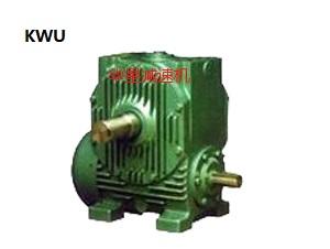 KWU蜗杆减速机 锥面包络蜗杆减速机
